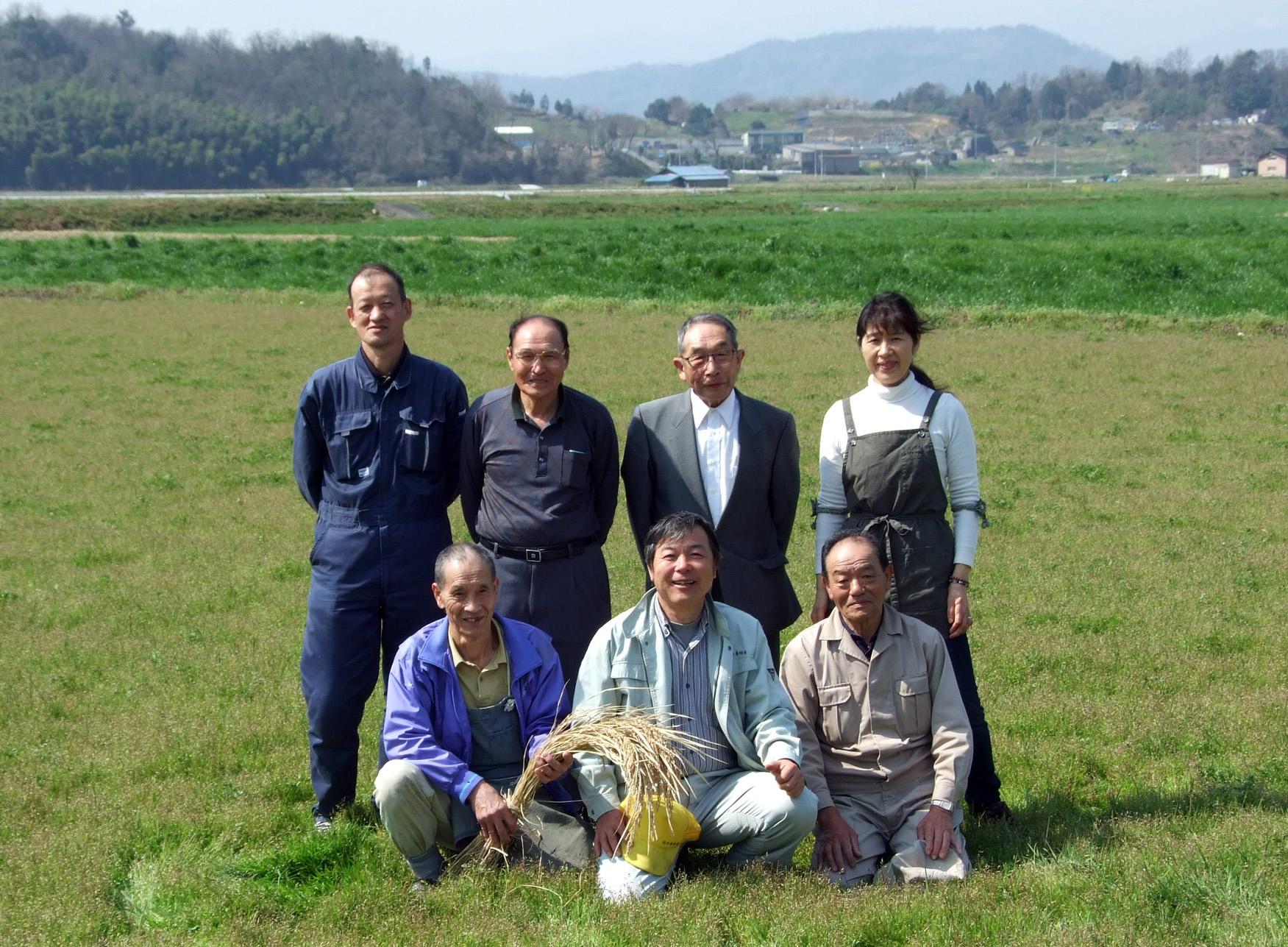万葉美人米生産部会写真1