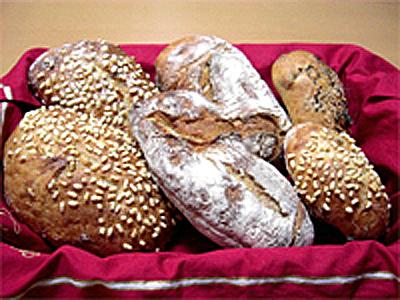 パン屋さんの湯種パン